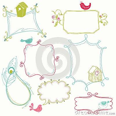 Sweet Doodle Frames