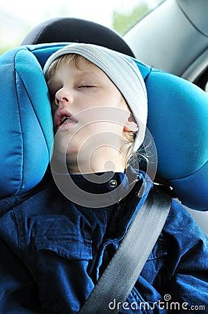 Sweet dreams in car