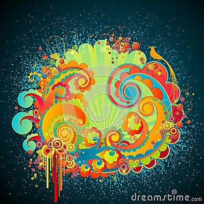 Sweet fantasy swirls.