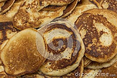 Sweet flour semolina pancakes pooray
