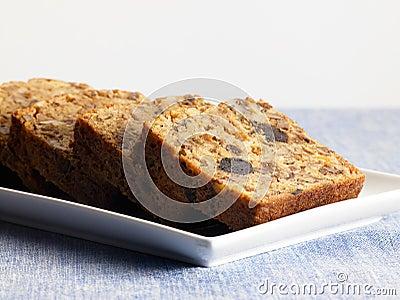 Sweet food dessert, cake in setting minimal
