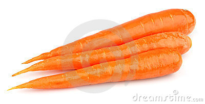 Sweet and freash carrots