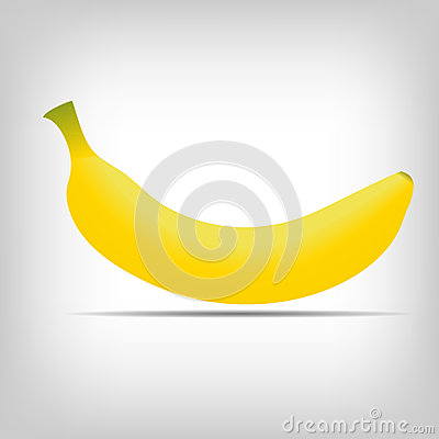 Sweet fresh yellow bananas vector illustration
