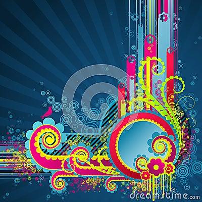 Sweet funky swirls.