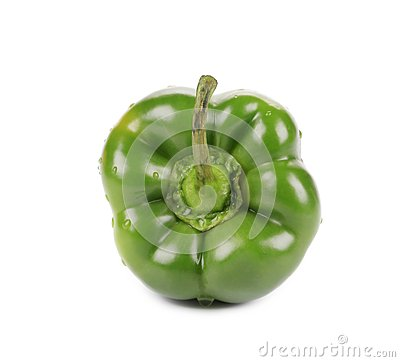 Sweet green pepper.