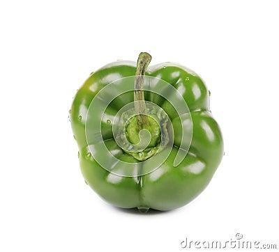 Sweet green pepper.