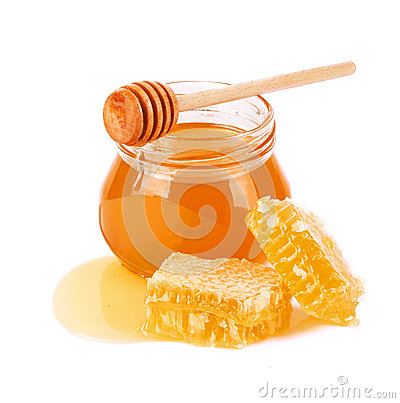 Free Sweet Honey And Honeycomb Royalty Free Stock Photo - 38579455