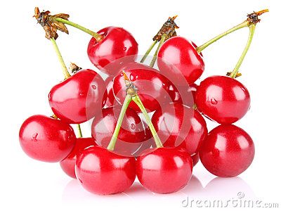 Sweet juicy cherry
