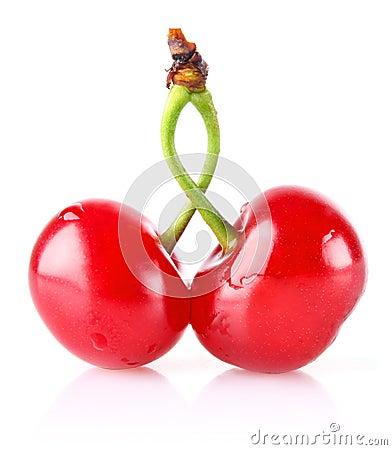 Sweet juicy cherry