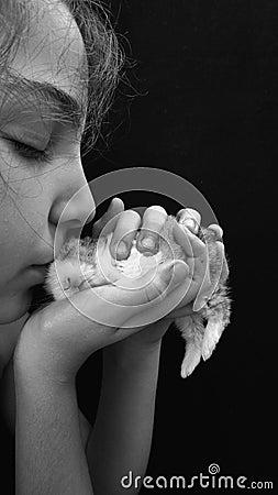 Free Sweet Kiss Royalty Free Stock Image - 78136786