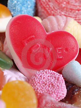 Free Sweet Love Candy Royalty Free Stock Photo - 12962505