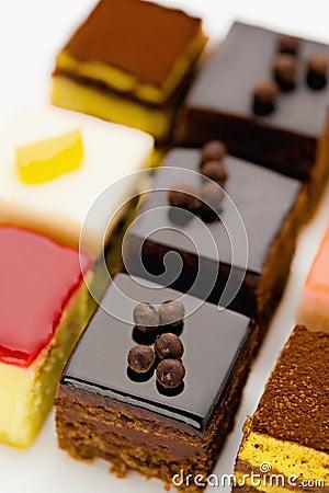 Free Sweet Mini Pastries Royalty Free Stock Photo - 8837795