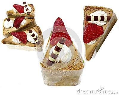 Sweet pastry cake