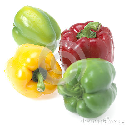 Sweet pepper isolated