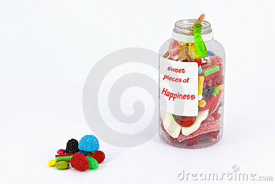 Sweet pieces of happiness