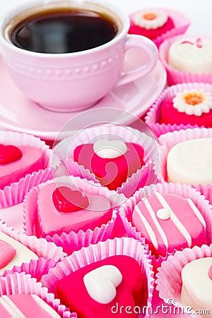 Sweet pink arrangement
