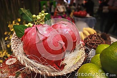 Sweet pitayas fruit