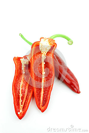 Sweet pointy pepper