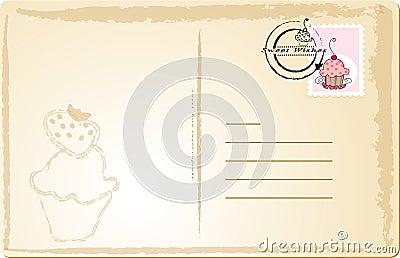 Sweet post card