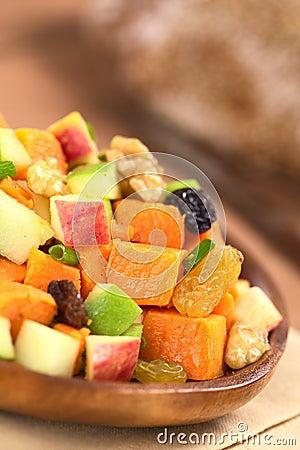 Sweet Potato and Apple Salad