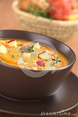 Sweet Potato and Apple Soup