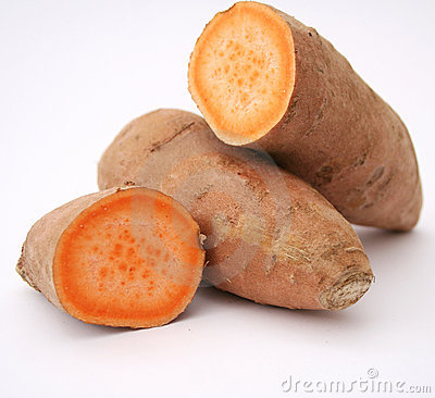 Free Sweet Potatoes Royalty Free Stock Photos - 11498218