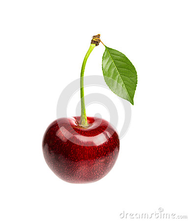 Free Sweet Red Cherry Royalty Free Stock Images - 42040549