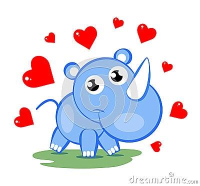 Sweet rhinoceros