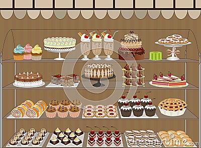 Sweet Shop Stock Photos Image 16993023