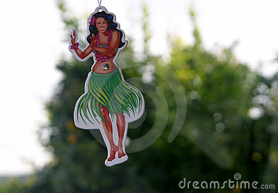 Sweet Smelling Hula Girl