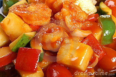 Sweet and sour fried