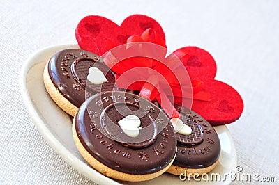 Sweet Valentine s day cookies