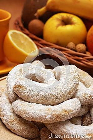 Sweet Vanilla Rolls Royalty Free Stock Images - Image: 7633099