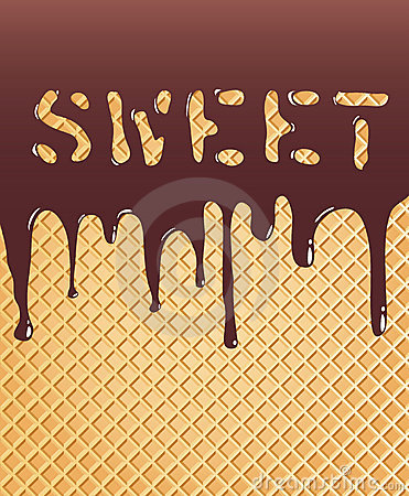 Sweet wafer