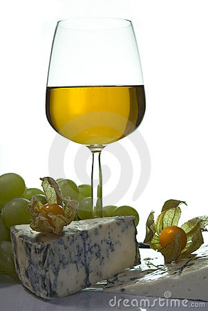 Free Sweet Wine & Cheese I Royalty Free Stock Image - 1884876