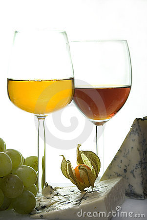 Free Sweet Wine & Cheese III Stock Image - 1884901