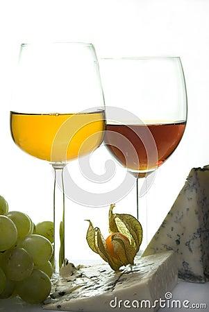 Sweet wine & cheese III