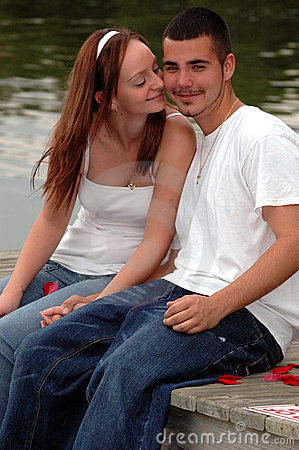 Sweet young couple
