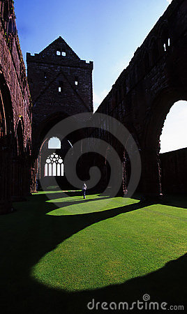 Free Sweetheart Abbey Stock Image - 1685561