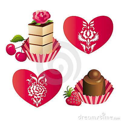 Free Sweets And Hearts Stock Photos - 4262193