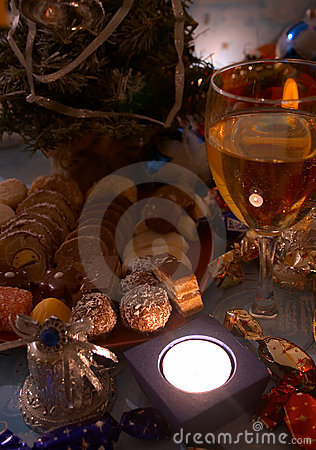 Free Sweets At Christmas Time Royalty Free Stock Images - 1683569