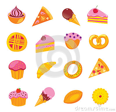 Sweets & bakery set