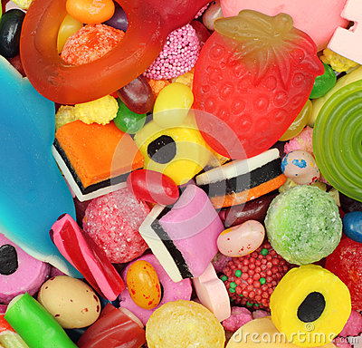 Free Sweets Candy  Royalty Free Stock Image - 53242216