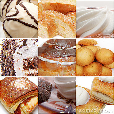 Free Sweets Collage Stock Photos - 12799923