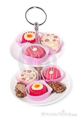 Free Sweets For A High Tea Stock Photography - 14477842