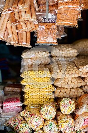Sweets at market