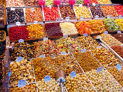 Sweets at market