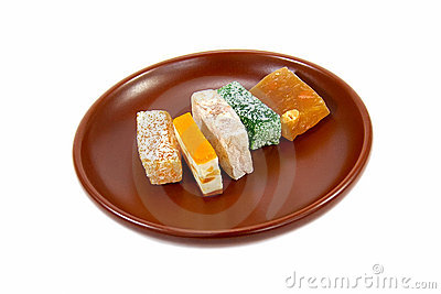 Sweets plate