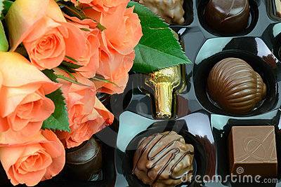 Sweets with roses