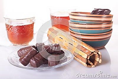 Sweets to tea and tea